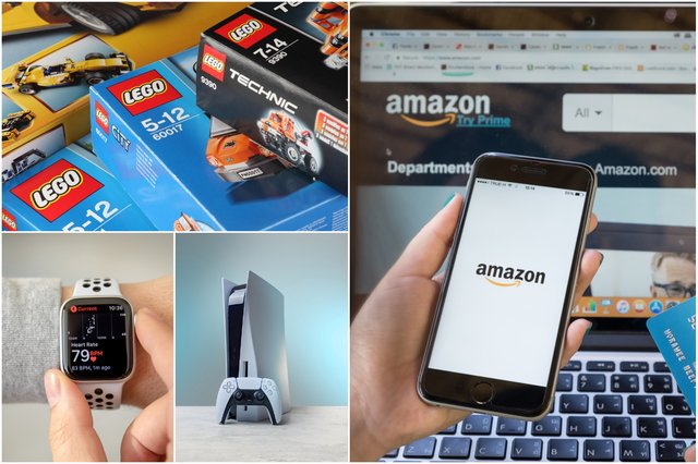 <p>A number of other big name brands and products were mentioned in the announcement from Amazon, including JBL headphones, Fire TVs, LEGO, and Apple</p>