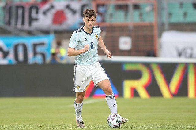 Kieran Tierney of Scotland missed out against Czech Republic but hopes to be fit to play against England.