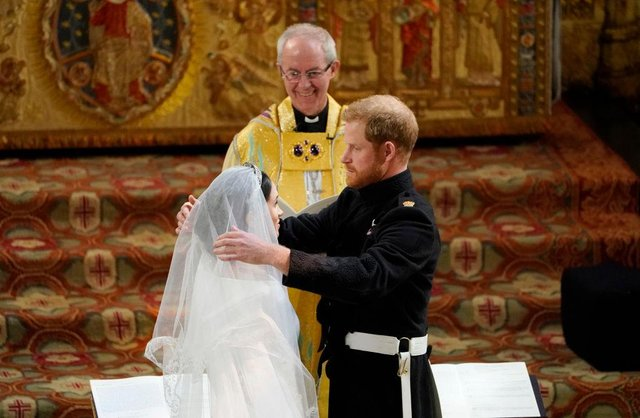 Prince Harry married Meghan Markle before the Archbishop of Canterbury in St George's Chapel, Windsor, on May 19, 2018 (Picture: Getty Images)