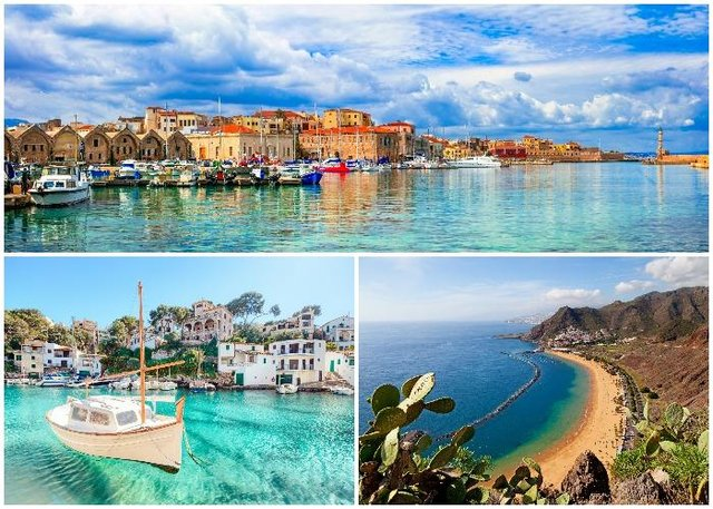 Popular island holiday spots could be moved to the green list of travel destinations, even if the mainland remains amber (Shutterstock)