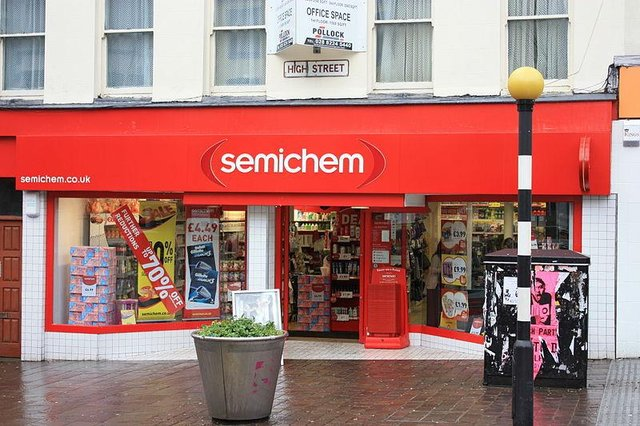 Semichem operates 86 stores in shopping centres and on high streets across Scotland, Northern Ireland and the north east of England (Photo: Ardfern/Wikimedia Commons)