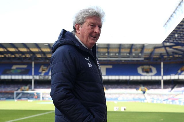 Roy Hodgson, Manager of Crystal Palace. (Photo by Clive Brunskill/Getty Images)