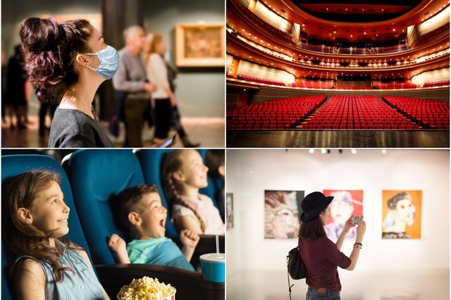 Museums, galleries theatres andcinemas are yetto reopen in parts of the UK (Photo: Shutterstock)