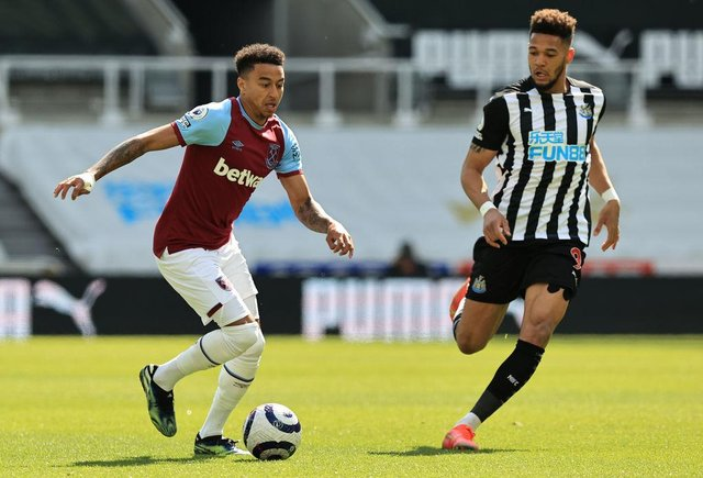 Jesse Lingard of West Ham. (Photo by David Rogers/Getty Images)