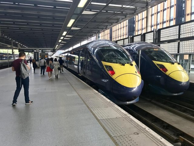Rail passengers across the UK are experiencing delays after a number of high-speed trains have been removed from service due to hairline cracks (Photo: Shutterstock)