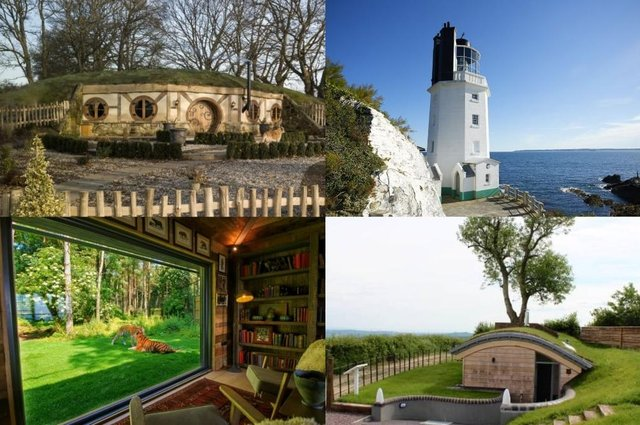 Escape the mundane working from home grind with a trip to one of these weird and wonderful getaways (Photos: Oliver's Travels / Rural Retreats / Host Unusual / Canopy and Stars)