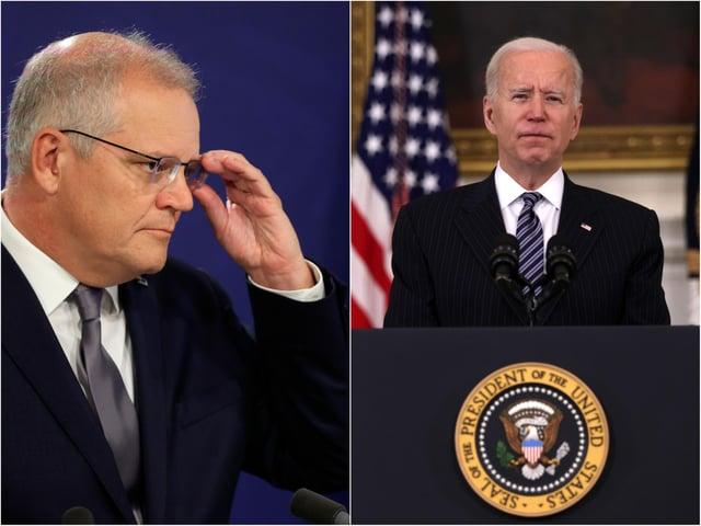 The Austrailian prime minister Scott Morrison and the president of the United States Joe Biden have paid tribute to the Duke of Edinburgh.