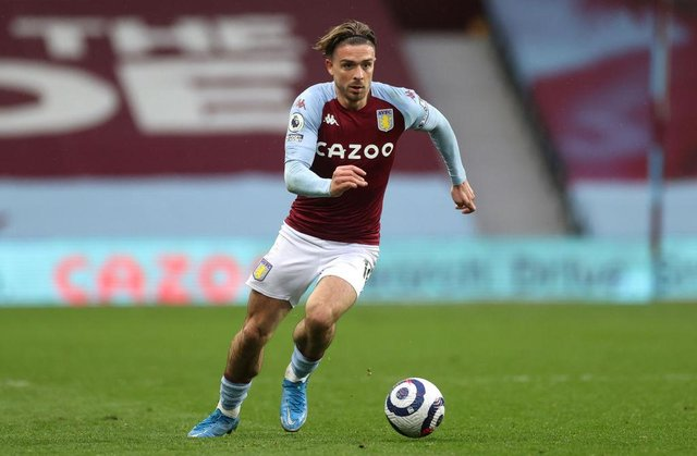Jack Grealish of Aston Villa. (Photo by Carl Recine - Pool/Getty Images)