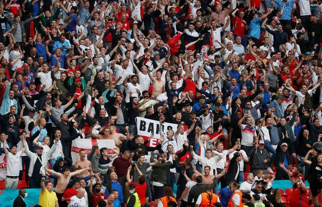 Progress at Euro 2020 means that England will play their quarter final match against Ukraine at the Stadio Olimpico - but will any Three Lions be allowed to cheer them on in Rome? (Pic: Getty)
