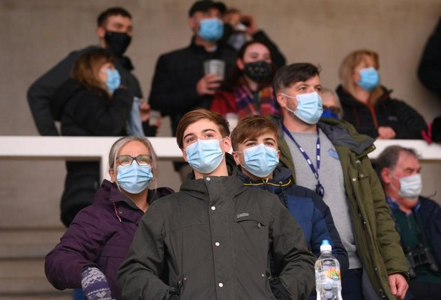 Some widely-used face masks have been found to have alarming flaws (Getty Images)