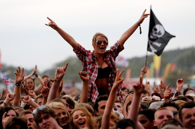 Festival Republic said testing could be the solution to the return of mass events (Photo: Gett Images)