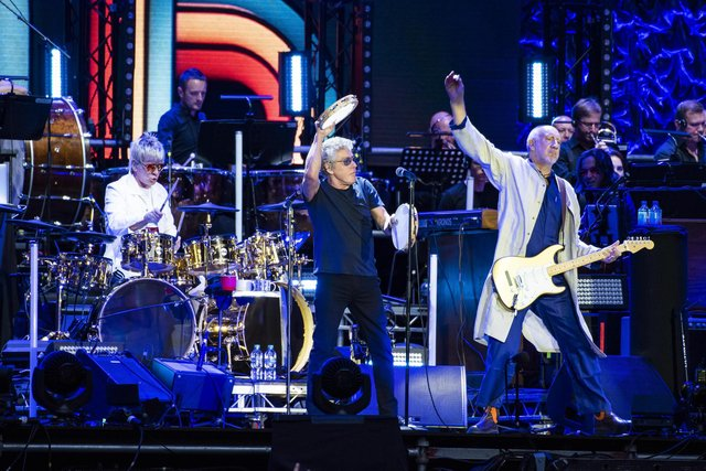 The Who coin is the fourth to be released in the Royal Mint's music legends series (Photo: PA)