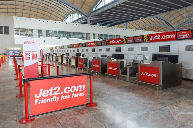 Jet2 had originally suspended its services up to 24 June when the initial green list was announced (Shutterstock)