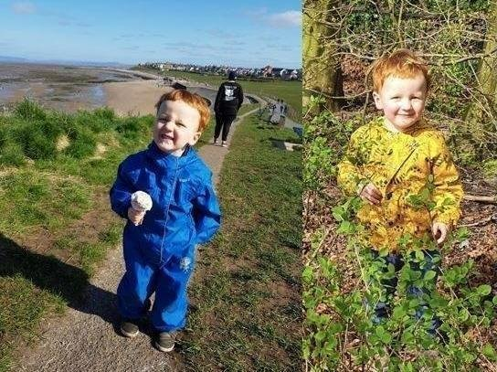 """The parents of a toddler who died following a suspected gas explosion in Heysham, Lancashire, have paid tribute to their """"beautiful little angel"""""""