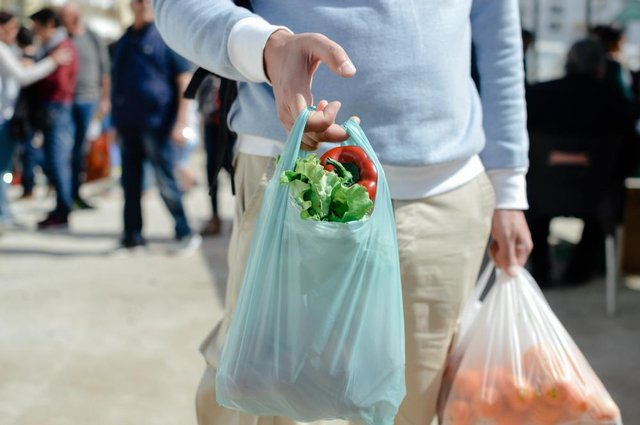 The cost of a single-use carrier bag has now increased from 5p to 10p for all businesses in England (Photo: Shutterstock)