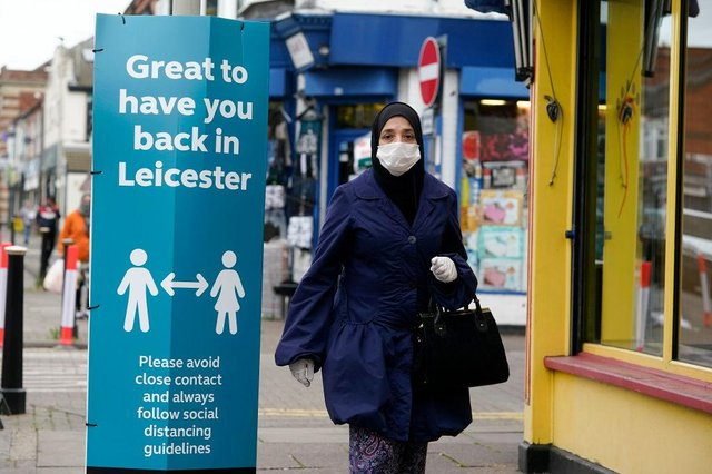 People in Leicester are being asked to avoid travelling in and out of the area, and to not meet indoors (Photo: Christopher Furlong/Getty Images)