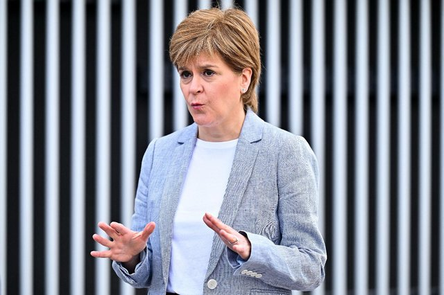 Nicola Sturgeon will make her next Covid update on Tuesday (Getty Images)