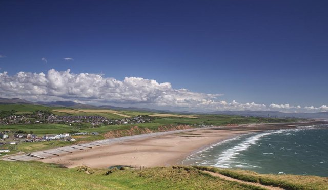 St Bees on the Cumbrian Coast is the start of  Wainwright's Coast to Coast long distance walk (Shutterstock)