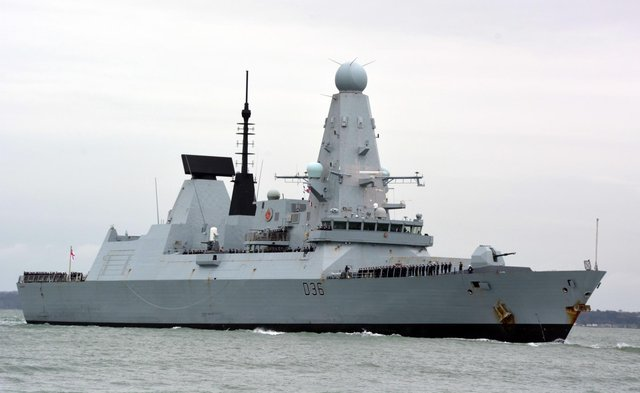 HMS Defender, Russian forces fired warning shots at the Royal Navy destroyer after it entered the country's territorial waters in the Black Sea, the Russian Defence Ministry has said