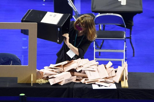 Voting is underway in England, Scotland and Wales (Getty Images)