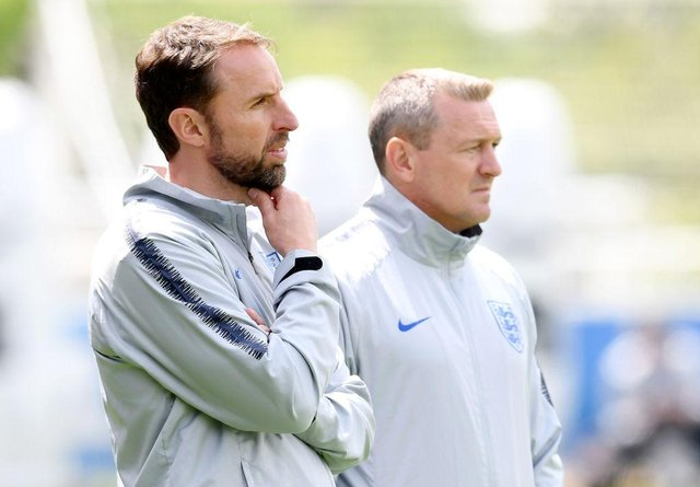 Gareth Southgate and Aidy Boothroyd have exchanged texts this week with the Under-21 boss under pressure.