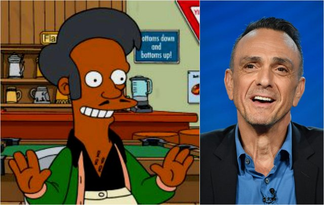 The character of Apu has been criticised for reinforcing racial stereotypes (Fox/Getty Images)