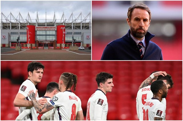 Gareth Southgate and the England squad will prepare for Euros glory in Middlesbrough(Photos: Shutterstock, Mattia Ozbot/Getty Images & Andy Rain - Pool/Getty Images)