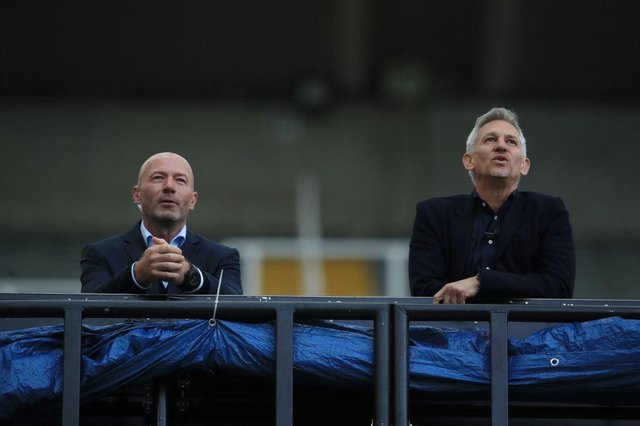 Former England strikers Alan Shearer and  Gary Lineker aren't included in the greatest Three Lions team.