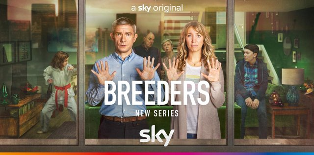 Breeders returns to Sky One from 27 May (picture: Breeders/Twitter)