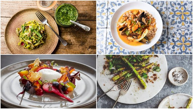 This collection of healthy spring recipes is perfect for warmer weather