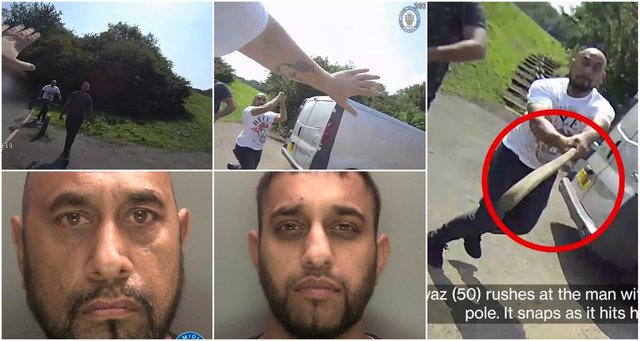 West Midlands Police released footage and photos of the shocking attack