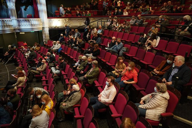 Theatres are currenty operating on reduced capacity (Photo: Getty Images)