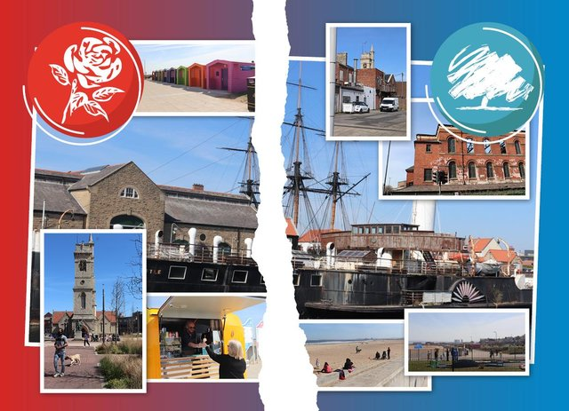 A by-election is taking place in Hartlepool this Thursday, with Labour and the Tories battling it out for the seat (Credit: Mark Hall)