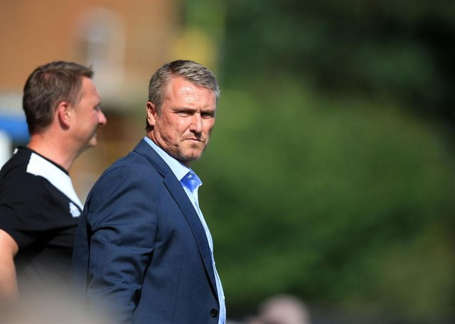 Lee Clark played for both Newcastle United and Fulham. (Photo by Clint Hughes/Getty Images)