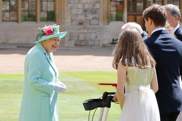 The Queen hosts the birthday honours at Windsor Castle (Getty Images)