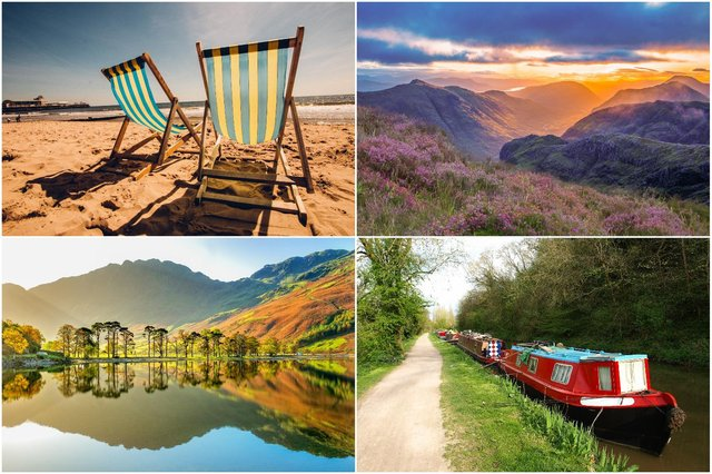 Holidays in the UK are popular this summer, but it's still possible to get a good deal (Photos: Shutterstock)