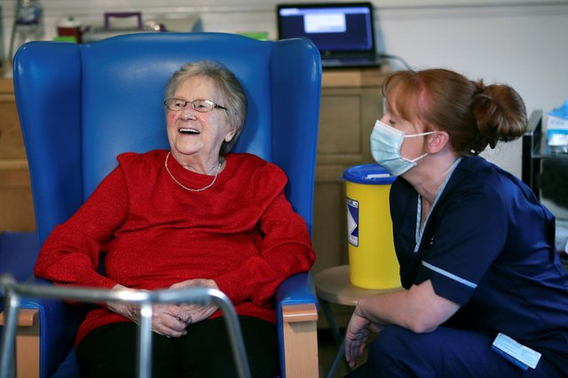 Research was carried out on care home residents and staff (Getty Images)