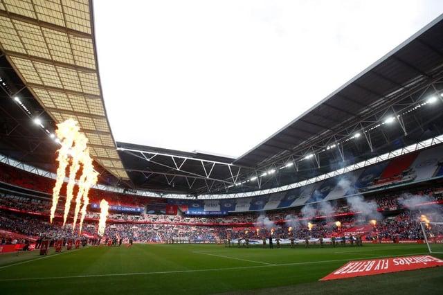 Wembley Stadium. (Photo by Matt Childs - Pool/Getty Images)