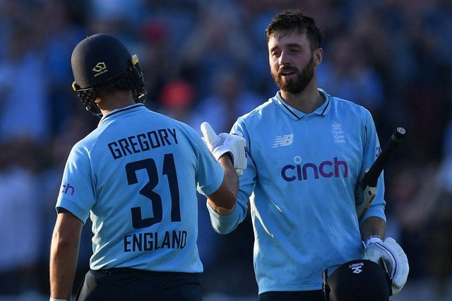 Lewis Gregory keeps his England place but there is no spot for James Vince, who hit a brilliant century in the 3rd ODI win over Pakistan.