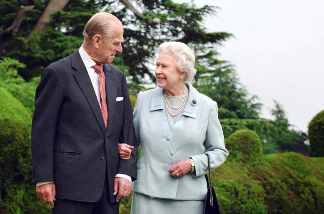 Queen Elizabeth II and her husband, the Duke of Edinburgh, were married for 73 years (Getty Images)