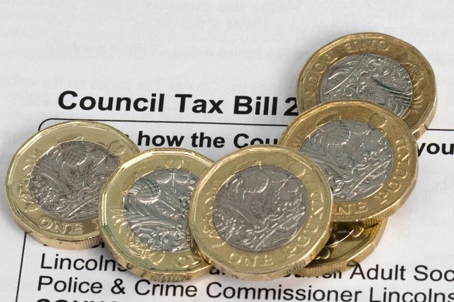 The average Band D council tax bill has increased by 4.4% in England, meaning the overall bill for the 2021/22 year will rise by £81 to £1,898. (Pic: Shutterstock)
