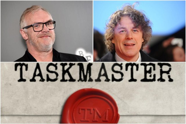 Alan Davies among stars confirmed for next series of Taskmaster  (Photos: Avalon Television for Taskmaster, Stuart Wilson/Getty Images, Jeff Spicer/Getty Images)