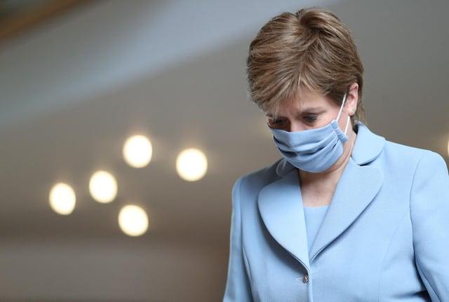 Nicola Sturgeon se dirigió hoy al Parlamento escocés (Getty Images)