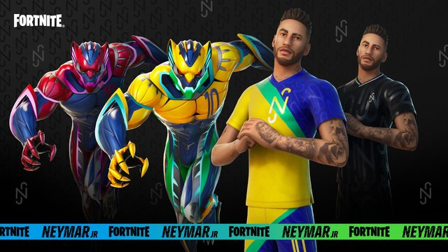 Players will have to complete a number of new challenges if they want to unlock all the Neymar Jr skins and items (Photo: Epic Games)
