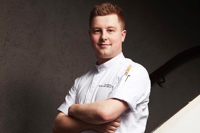 Webb has been working on a new book, as well as planning for his own restaurant, since he won Masterchef in 2020 (Picture: BBC)