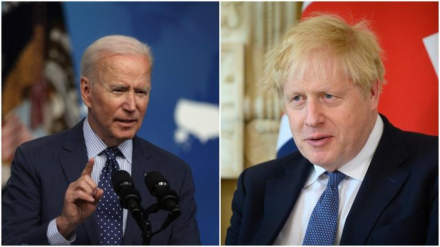 Joe Biden and Boris Johnson will meet face-to-face before the G7 Summit, during the US President's first international trip abroad since taking office (Getty Images)
