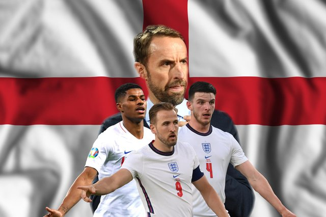England kicked off their Euro 2020 campaign against Croatia on 13 June - and will now play in the final against Italy on 11 July. (Graphic: Mark Hall / JPIMedia)