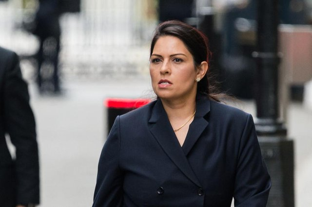 Howard Beckett has been suspended for his tweet about Priti Patel (Getty Images)