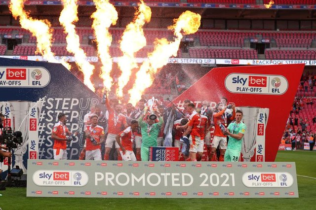 Blackpool earned promotion to the Championship last season (Getty Images)