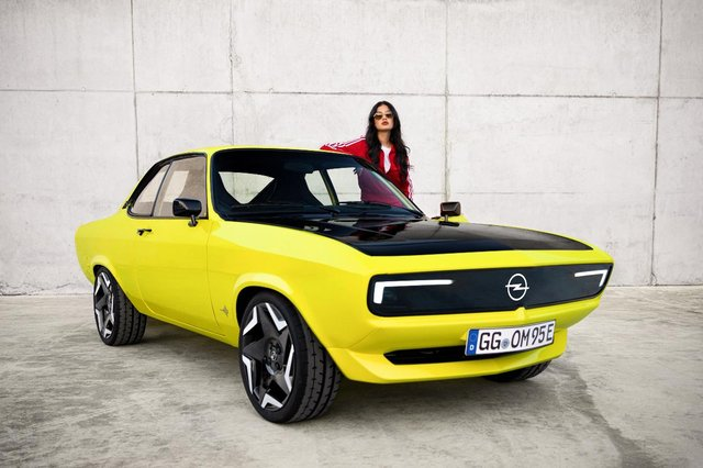 Vauxhall's electric range will include a production version of the Manta-e